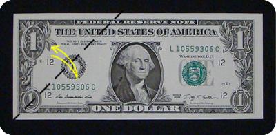 стрелка из денег 1