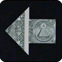 стрелка из денег 10