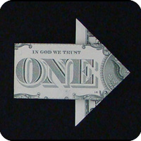 стрелка из денег 11