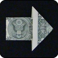 стрелка из денег 13