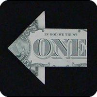 стрелка из денег 14