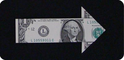 стрелка из денег 16