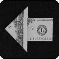 стрелка из денег 18