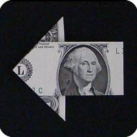 стрелка из денег 20
