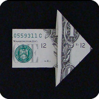стрелка из денег 21