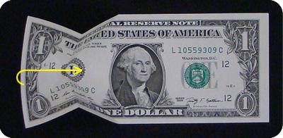 стрелка из денег 5