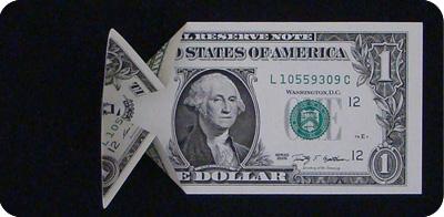 стрелка из денег 6