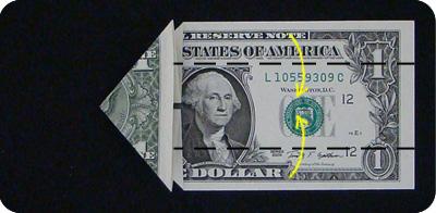 стрелка из денег 7