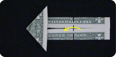 стрелка из денег 8