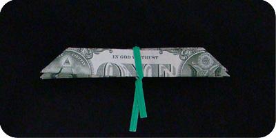цветок из денег 9