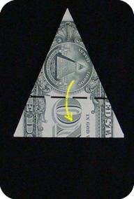 ёлка из денег 12