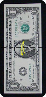 ёлка из денег 4