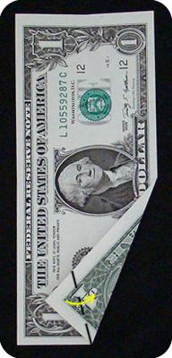 ёлка из денег 6