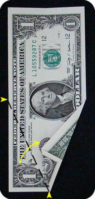 ёлка из денег 7