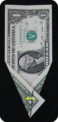 ёлка из денег 8