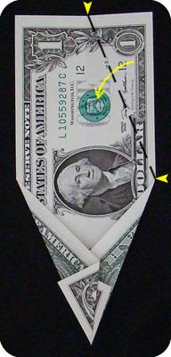 ёлка из денег 9