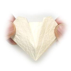 колокольчик оригами из бумаги 11