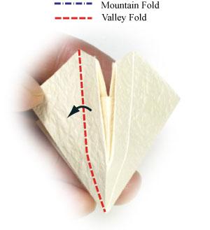 колокольчик оригами из бумаги 17