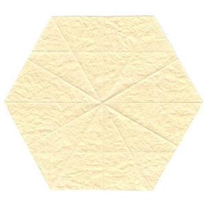 колокольчик оригами из бумаги 2