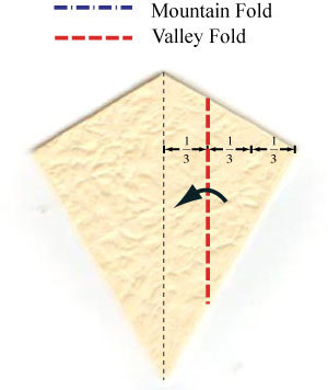 колокольчик оригами из бумаги 6