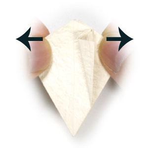 колокольчик оригами из бумаги 9