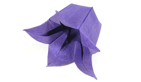колокольчик оригами 51