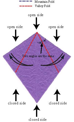 колокольчик оригами 6 5.