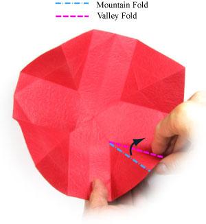 оригами тюльпан 24