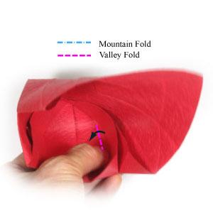 оригами тюльпан 35