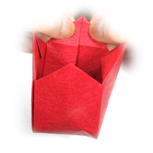 оригами тюльпан 45
