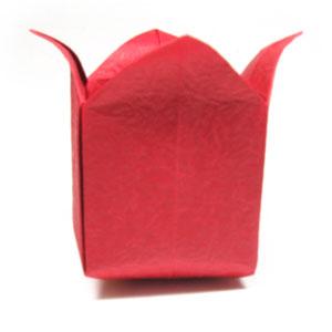 оригами тюльпан 50