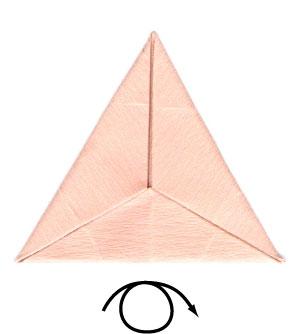 африканский ирис оригами 6