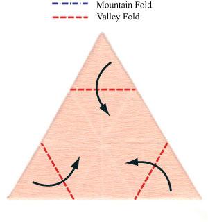африканский ирис оригами 7