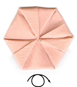 африканский ирис оригами 8