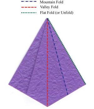 Оригами цветок лотоса схемы