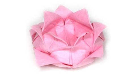 лотос оригами 45