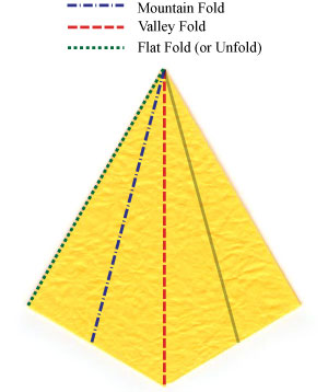 нарцисс оригами 8