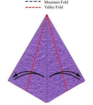 шафран оригами 6
