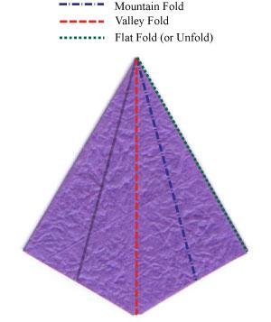 шафран оригами 7