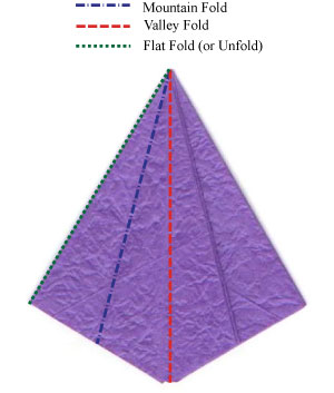 шафран оригами 9