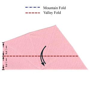 Барвинок оригами из бумаги 4