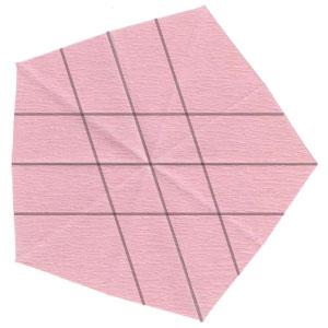 Барвинок оригами из бумаги 7