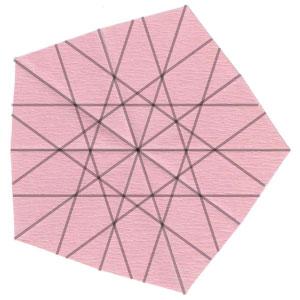 Барвинок оригами из бумаги 8