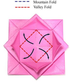 Модульные оригами лотос и видео