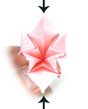 Лилия поделка из бумаги 25