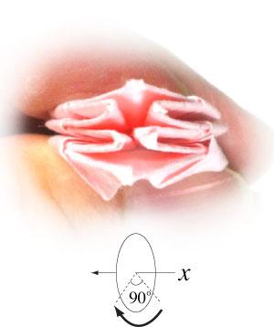 Лилия поделка из бумаги 26