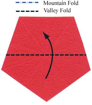 Роза в технике оригами 3
