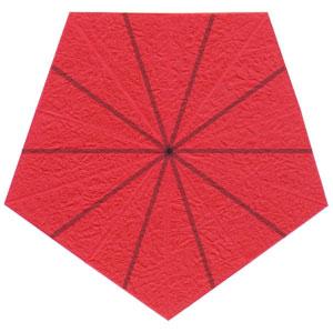 Роза в технике оригами 8