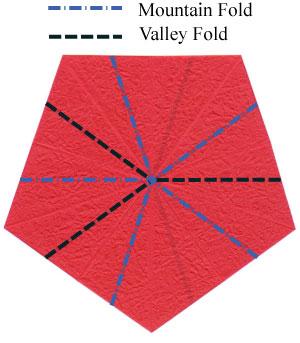 Роза в технике оригами 9