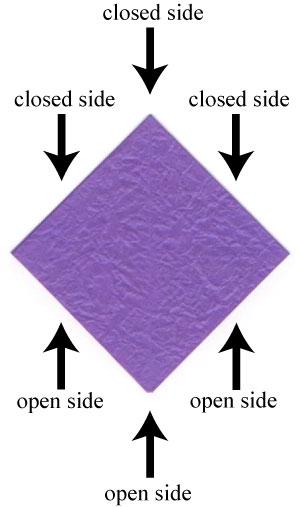 анютины глазки оригами 1